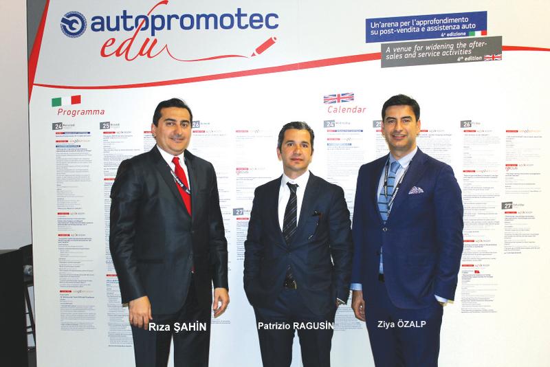 OSS, İtalya'da Türk Otomotiv Satış Sonrası Pazarını Tanıttı