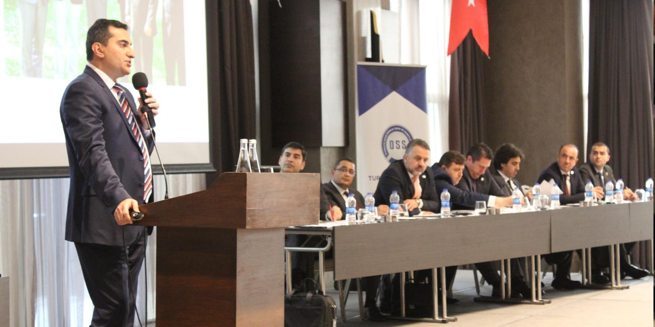 OSS Üyeleri İdari ve Mali Genel Kurul'da Bir Araya Geldi