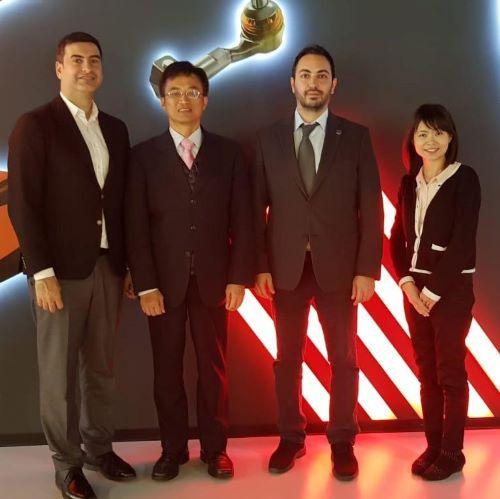 Tayvan Konsolosluğu'ndan OSS'ye Ziyaret