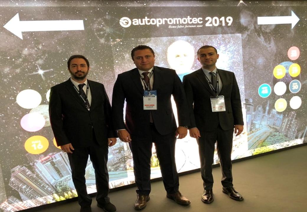 OSS Yönetimi Autopromotec Fuarı'nda