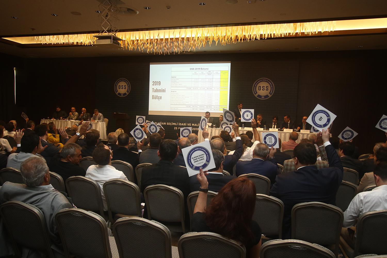 OSS Üyeleri Olağan Genel Kurul'da Buluştu