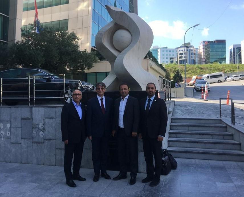 Sigorta Çalışma Grubu Üyeleri ve Anadolu Sigorta Yetkilileri Bir Araya Geldi