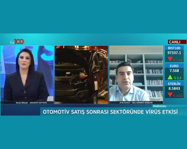 OSS Derneği Başkanı Ziya Özalp Parasal Programında Sektörü Değerlendirdi
