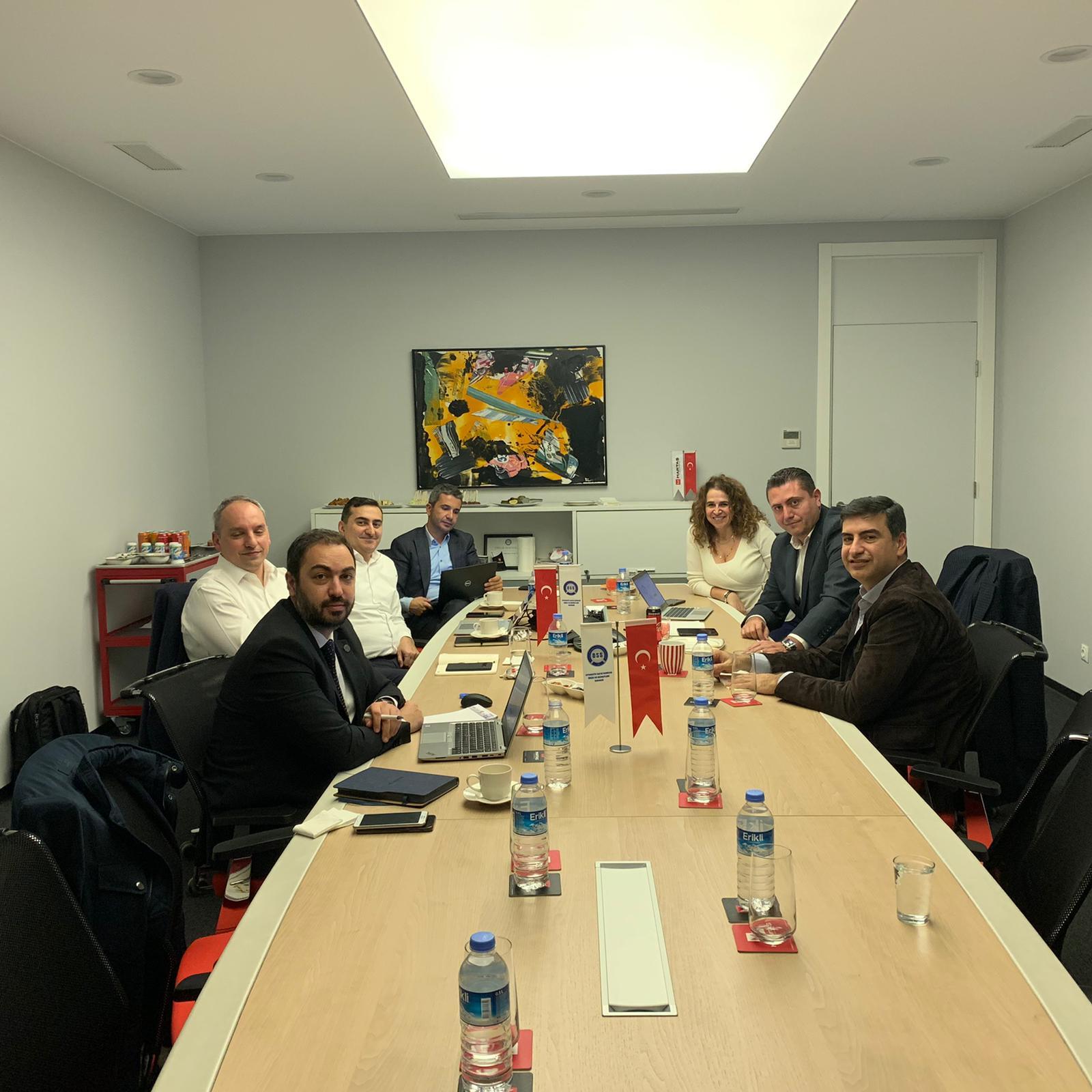 OSS'den Sektörel Araştırma Proje Toplantısı