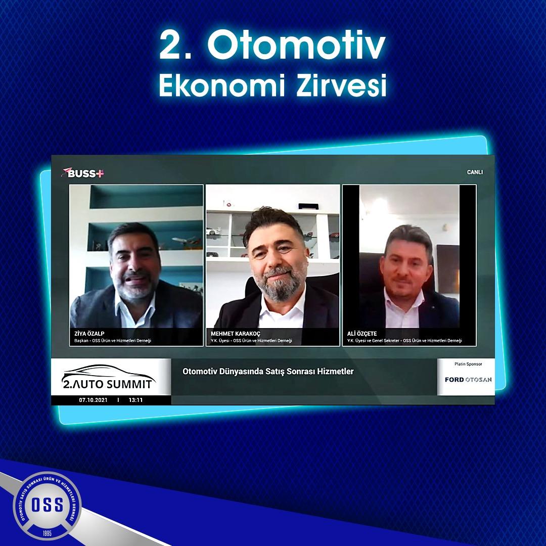 2. Otomotiv Ekonomisi Zirvesi Otomotiv Dünyasında Satış Sonrası Hizmetler Paneli