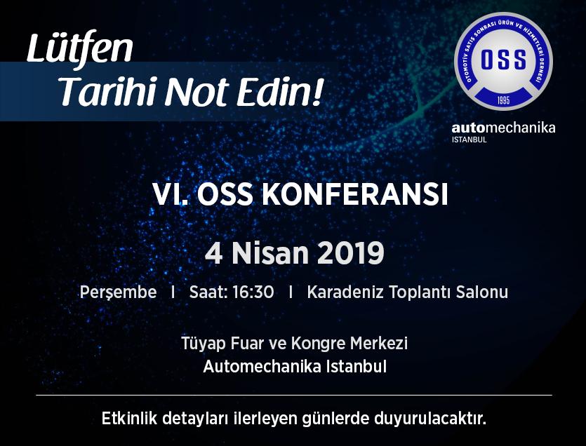 VI. OSS Konferansı 04.04.2019