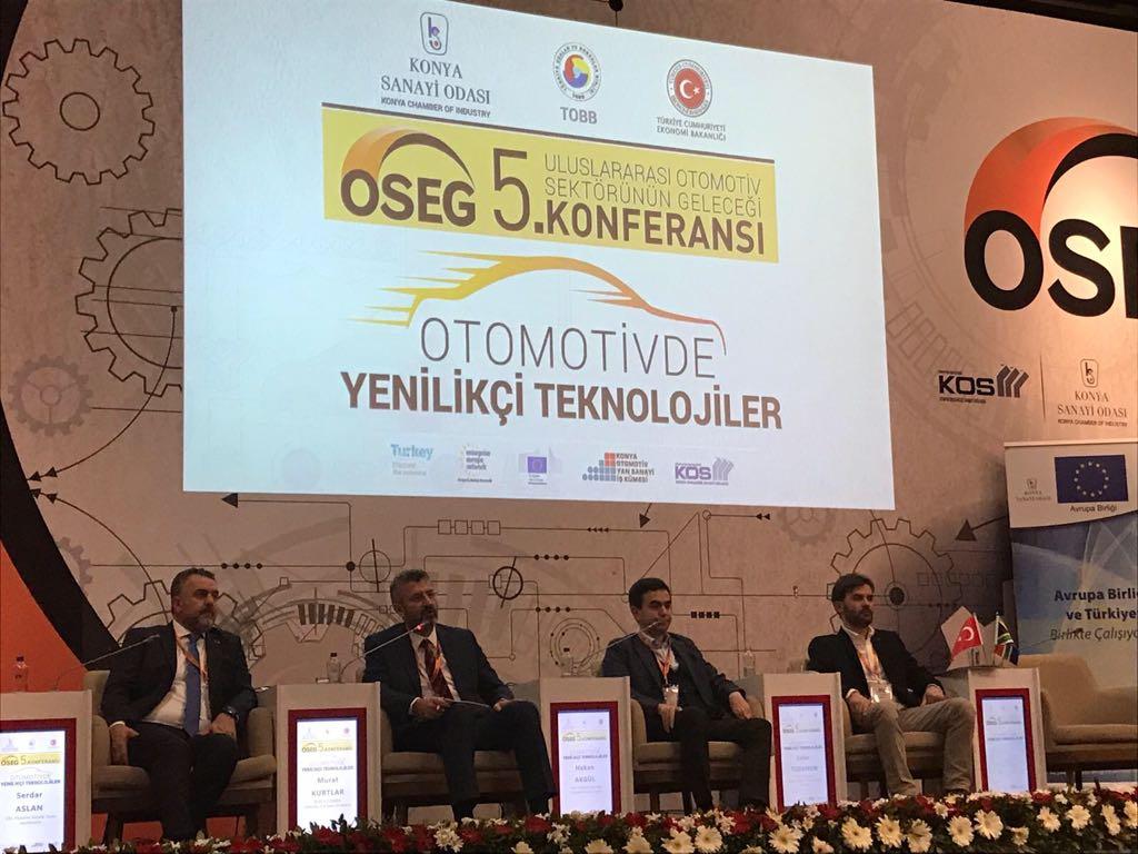 OSS, Konya'da Otomotiv Sektörü ile Buluştu