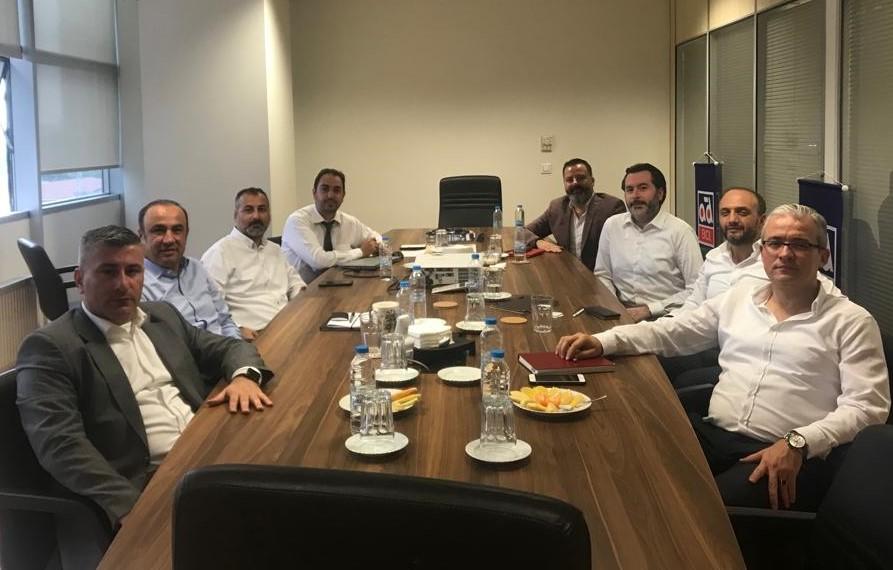 Yasal Düzenlemeler Çalışma Grubu'ndan TSE'ye Ziyaret