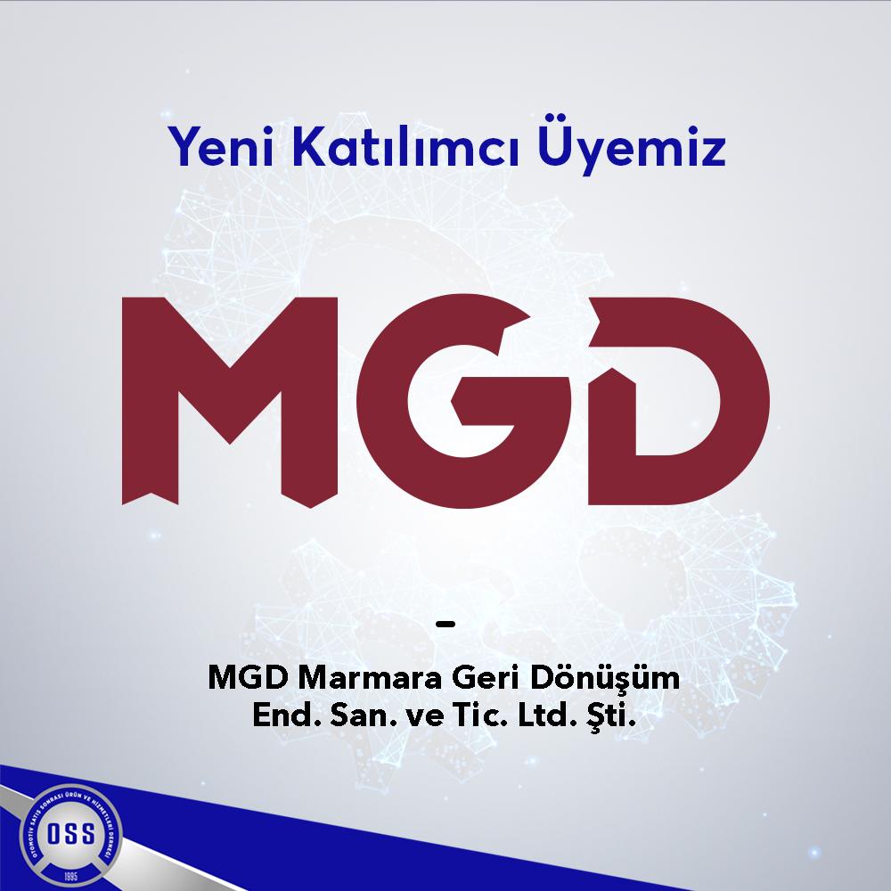 Yeni Katılımcı Üyemiz/ MGD Marmara Geri Dönüşüm End. San. ve Tic. Ltd. Şti