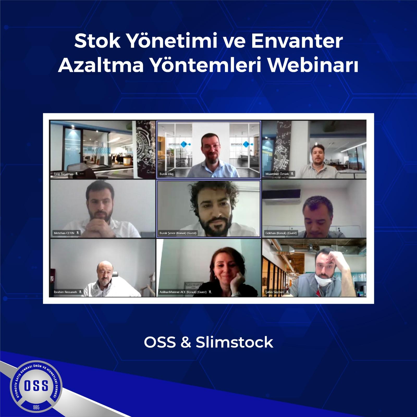 OSS & Slimstock İş Birliğinde Stok Yönetimi ve Envanter Azaltma Yöntemleri Konulu Webinar Büyük İlgi Gördü