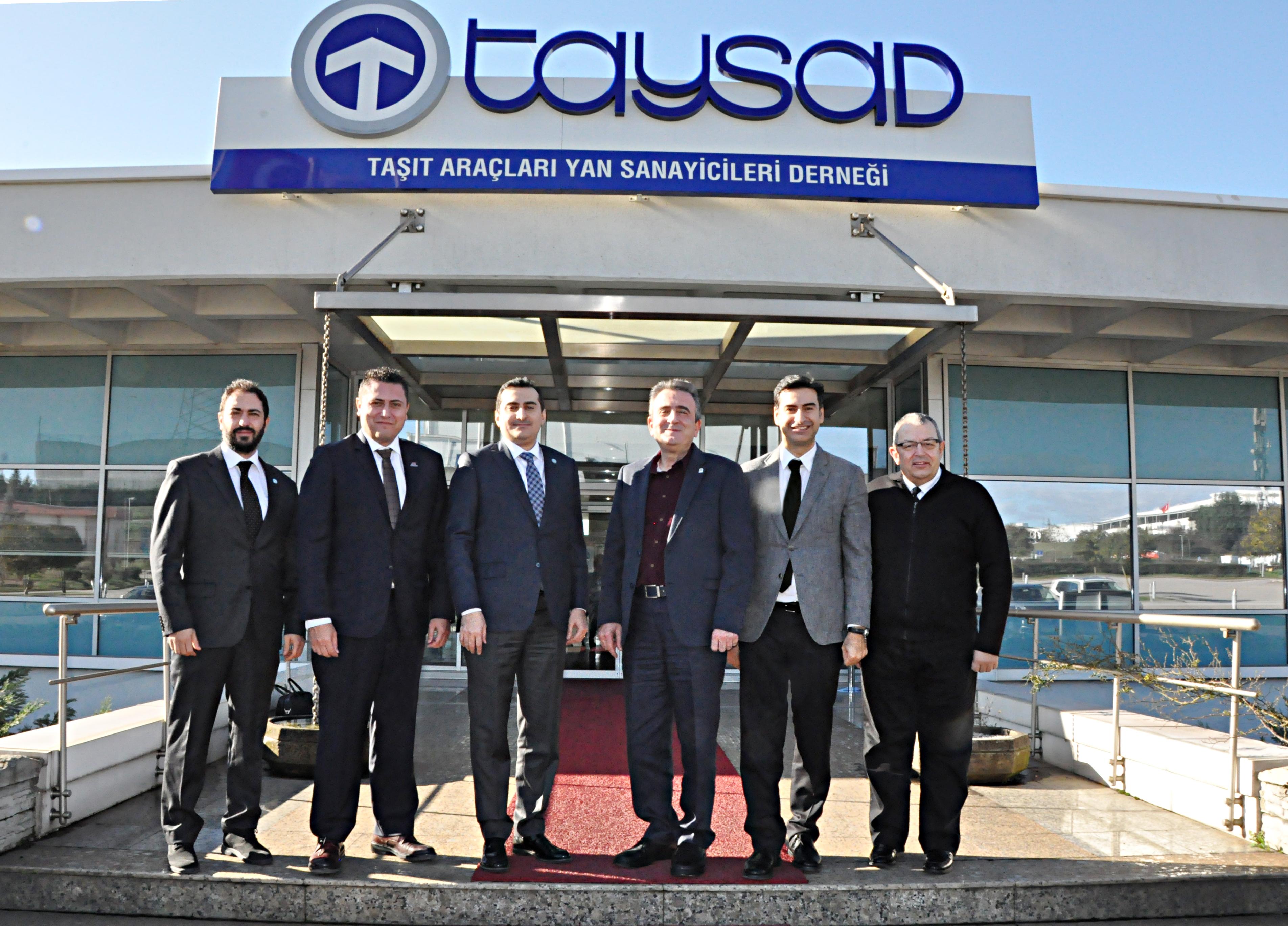 OSS Yeni Yönetim Kurulu İlk Resmi Görüşmesini Taysad'la Gerçeklştirdi