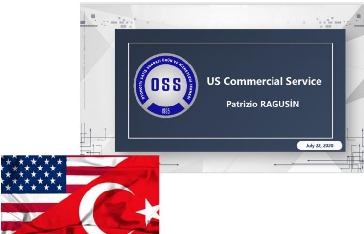 OSS, ABD Otomotiv Webinarında Türkiye Otomotiv Satış Sonrası Pazarını Tanıttı