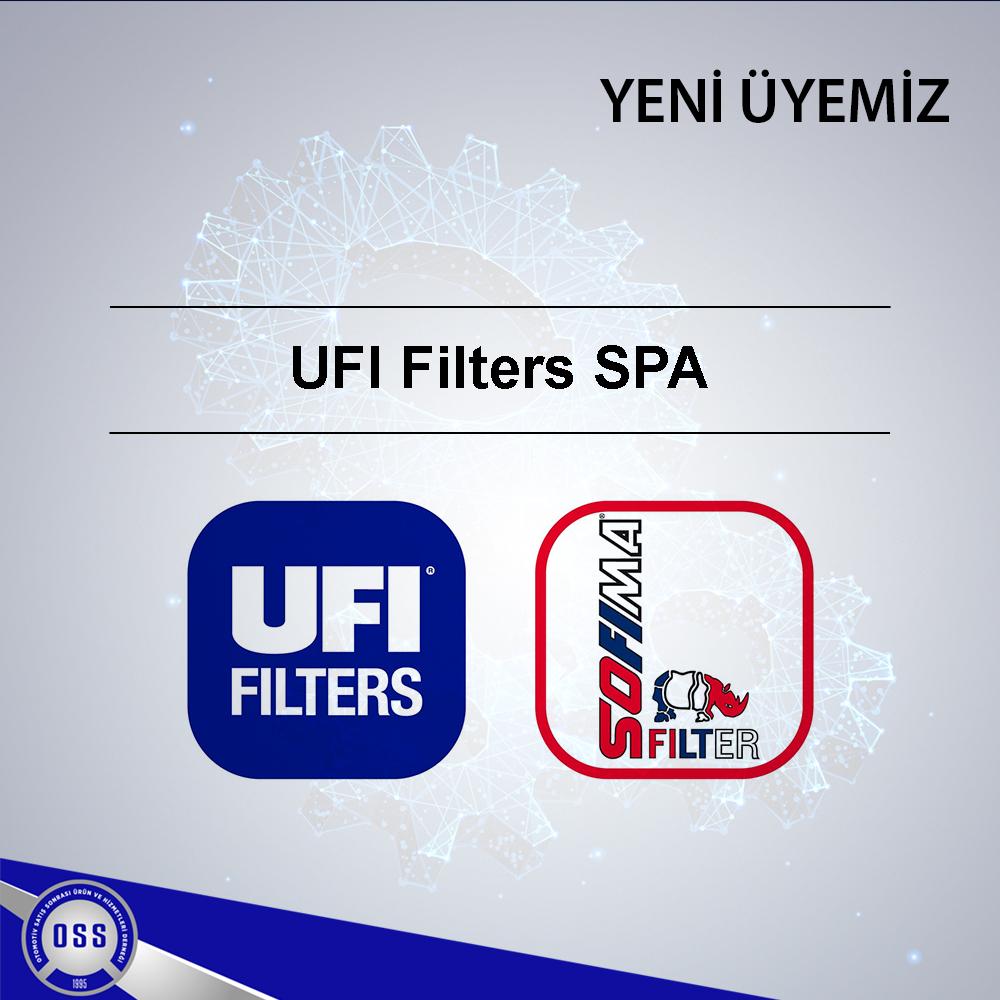 Yeni Üyemiz/ UFI Filtre SPA