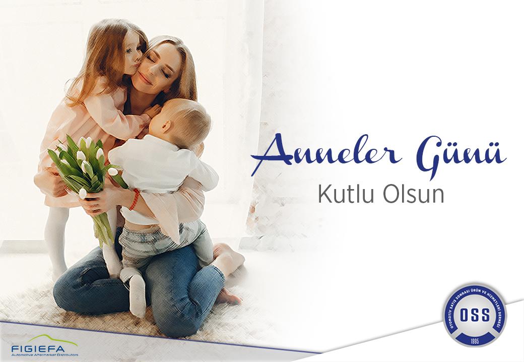 Karşılıksız sevgiyle bizleri büyütüp yetiştiren tüm annelerin Anneler Günü'nü kutlarız.