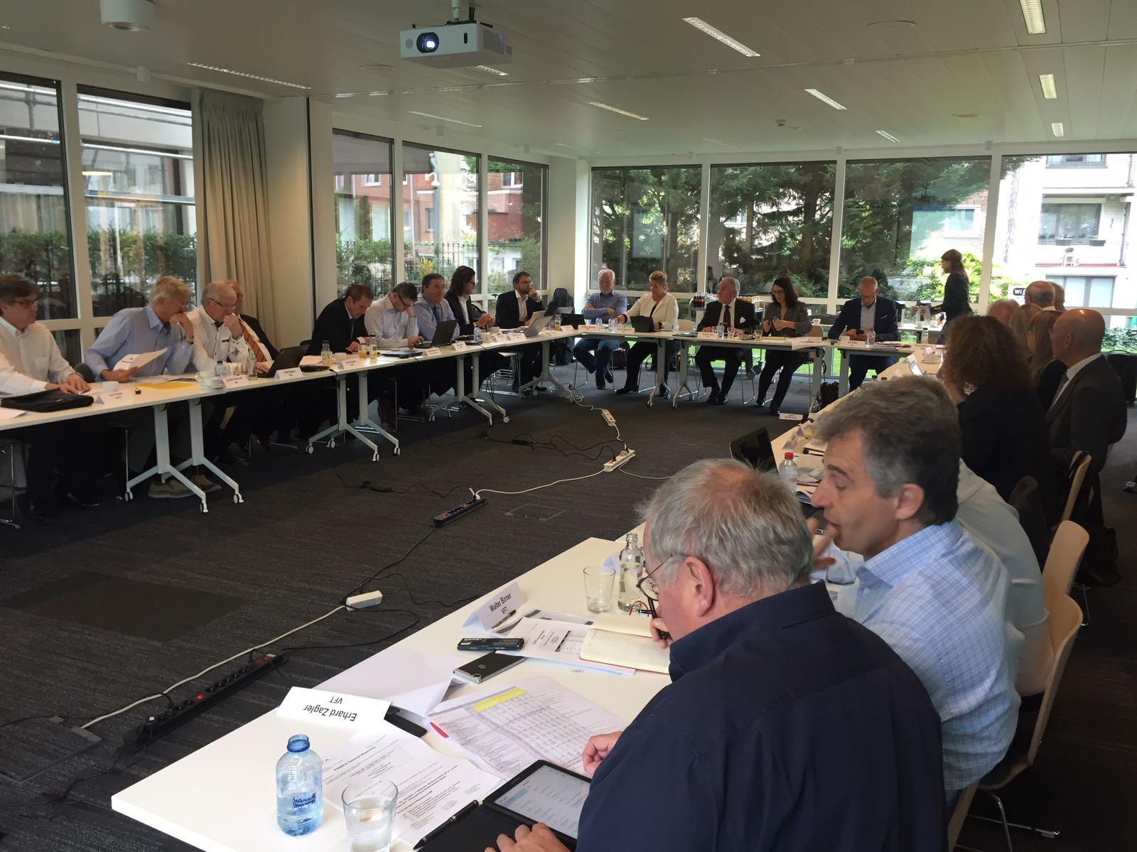 OSS Brüksel'de FIGIEFA Genel Kurulu'na Katıldı