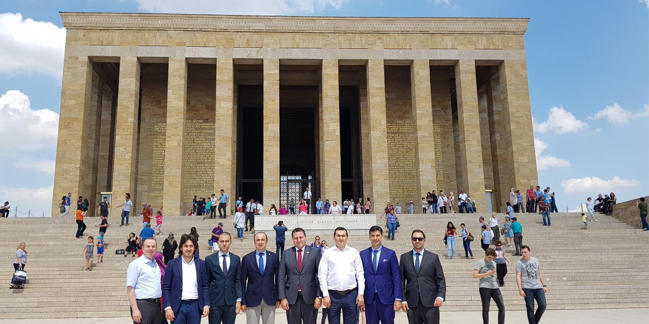 OSS Yönetim Kurulu Ankara'da