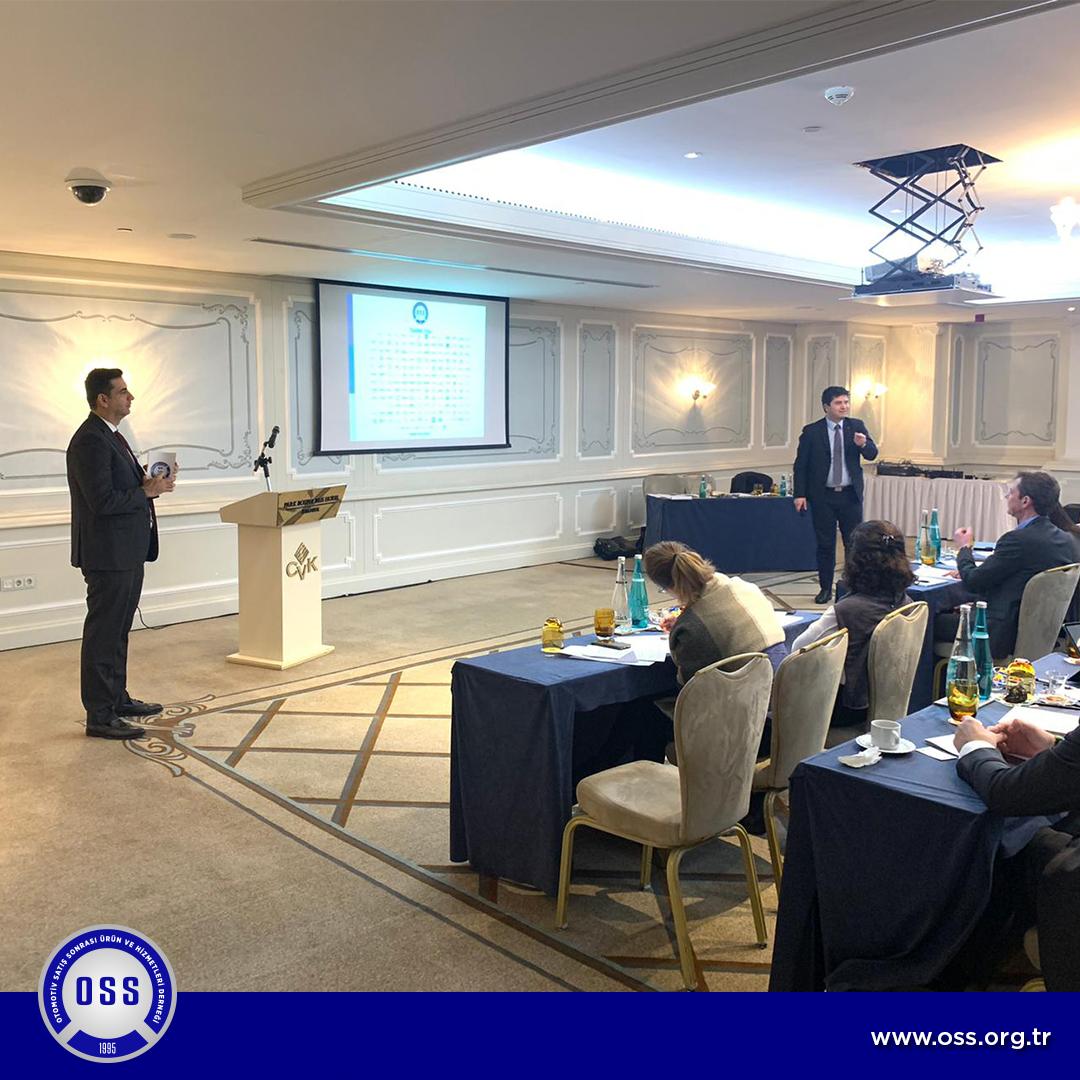 OSS, Fransız Ticaret Odası Destekli ESSEC Etkinliğinde Türk Otomotiv Satış Sonrası Pazarını Tanıttı