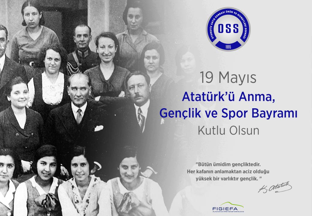 19 Mayıs Atatürk'ü Anma, Gençlik ve Spor Bayramı'nın 100. Yılı Kutlu Olsun!