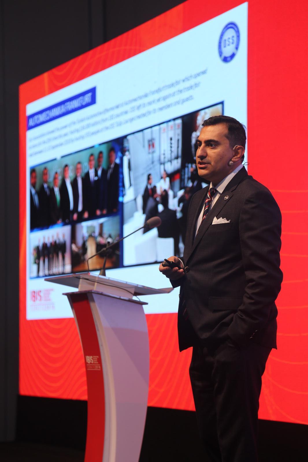 OSS, IBIS Türkiye Konferansı'nda Sektör Temsilcileri ile Buluştu